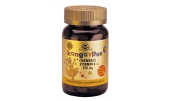 Kangavites Chewable Vitamin C 100mg таблетки за дъвчене